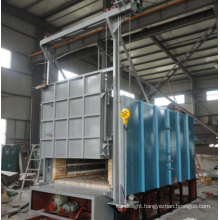 Trolley type bright annealing furnace
