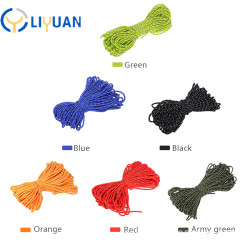 High quality double braid tent rope for camping