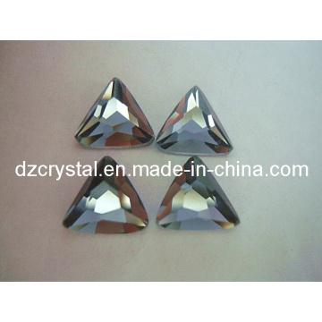 Grânulo de vidro preto do triângulo do triângulo