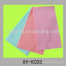 tela de tela de limpieza no tejida para toallitas de cocina