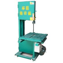 Machine de découpe de briques de lame de scie à ruban pour environnement vertical