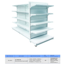 Standard Supermarket Double Side Gondola Shelf for Sale
