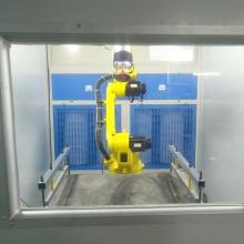 Heat shrink film grinding sanding force control system