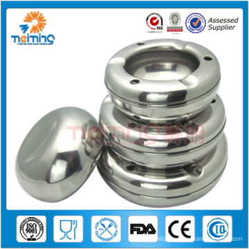 Wholesale good quality stainless steel ashtray/public ashtray metal