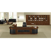 Hot Sale New Style Office Desk with PU, Veneer with Matt Paint Coating