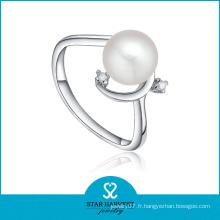 Dessins d'anneaux de perles d'eau douce pour femmes (SH-J0080R)