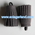 15*30MM Imitation Suede Leather Fringe Tassel Pendants