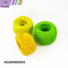 Cuerda de yute multicolor de alta calidad para bricolaje