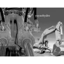 Hydraulik-Schlauch-Montage mit Flanschen Anschluss für Bagger Hyundai