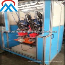 machine de tufting de double tête de balai / brosse faisant la machinebr / machine de tufting de balai en plastique