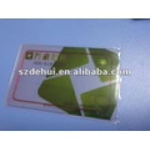Clear PVC Visual Member RF Chip Karten