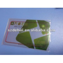Clear PVC Visual Member RF Chip Cards