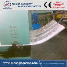Máquina para curvar techos corrugados de acero de color