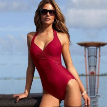 slim swimming suit