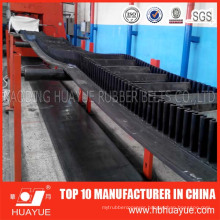Skirt Conveyor Belt for Twice Sulfuration