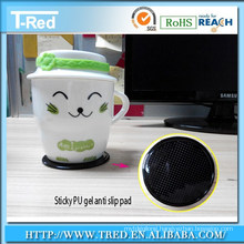 sticky nano material grip for cup or small gadget