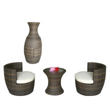 Популярные патио Водонепроницаемый дешевый ротанга садовая мебель наборы uk