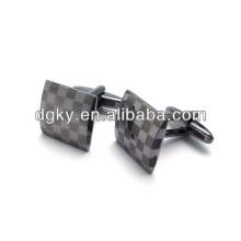Botão de manga de jóias de abotoaduras de alta qualidade