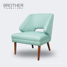 Chaude vente Tissu moderne hôtel accent chaises salon chaise de loisirs
