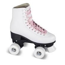 Soft Boot Quad Roller Skate para Adultos (QS-44)
