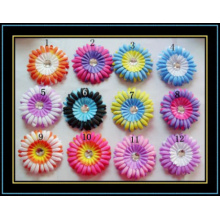 Colorful Daisies Sunflowers Corsage Headwear Accessories Hair Clip