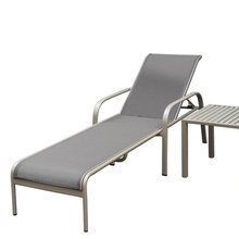 2-Years Warranty Hotel Outdoor Sling Sun Lounger