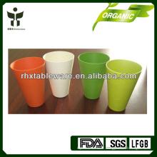 Tasses à base de fibres de bambou biodégradables
