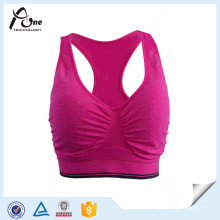 Fashionable OEM Running Bra Seamless Hot Sexy Sports Bra