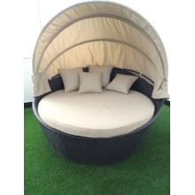Factory Price for Garden Table And Chairs Outdoor patio garden leisure sofa bed with canopy export to China Suppliers