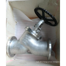 Oblique Type Globe Valve (GAY45H)