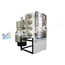 Máquina de revestimento do íon dos telhados cerâmicos PVD / máquina vitrificada do chapeamento de ouro dos azulejos