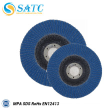 Polishing and grinding Abrasive High Durability flap disc with