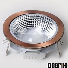8w led downlight 4 inch COB LED hole 125mm High brightness 470-550mm indoor use led lighting