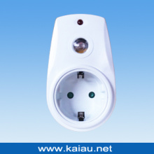 Germany Type Photocell Sensor Socket Plug (KA-LCS01)