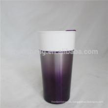 Europa y Reino Unido vantage por mayor de café taza de cerámica con acabado de gradiente