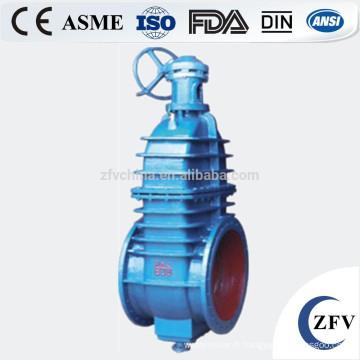l'eau joint de vanne de gaz double disque Cat dn100