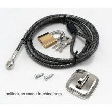 Блокировка компьютера, Блокировка кабеля, Блокировка ноутбука, Настольный замок Al-2000-03