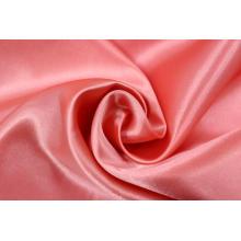Klassische Farbe 100% Polyester Charmeuse Satin Seidenstoff