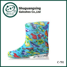 cute children carton rain boots korean rain shoes