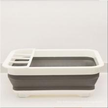Amazon Hot Style Folding Bowl Rack Household Multi-Functional Dish Rack