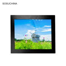 Monitor LCD industrial médico con pantalla táctil de alta definición