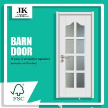 JHK-G21 Frosted Glass Office Doors Decorative Glass Interior Doors Toilet Glass Door