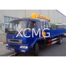 4T Mobile Telescopic Boom Truck Crane With 10m Lifting Heig