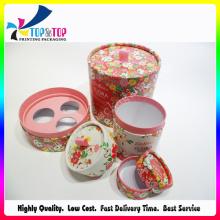 Diferentes tamaños de papel de cartón perfume velas caja de regalo