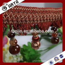 2016 Wholesale products Handcraft for Home Decoration of Handmade Long Beads Fringe