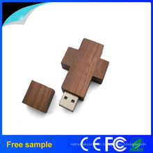Wooden Key Chain USB Flash Drive Promotional Gift