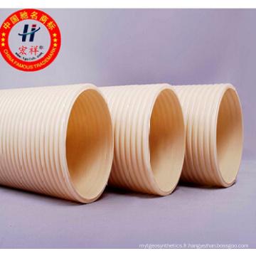 Tubes ondulés HDPE avec double paroi