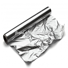 China aluminum foil jumbo roll 8011 with bright surface