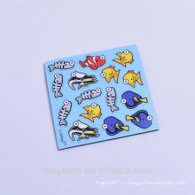 Симпатичные рыбы дизайн EVA мягкие магниты на холодильник стикеры для детей рекламные игрушки