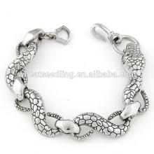 Fashion metal auspicious temperament snake skin bracelet